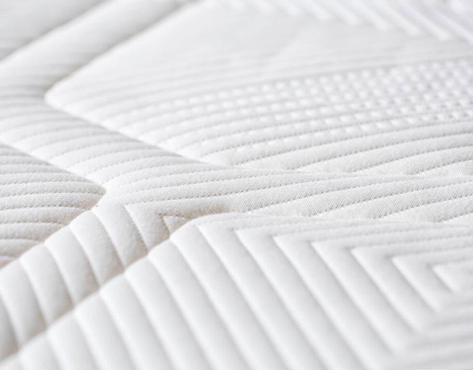 Detailaufnahme Bezug Kipli Matratze aus Bio-Baumwolle